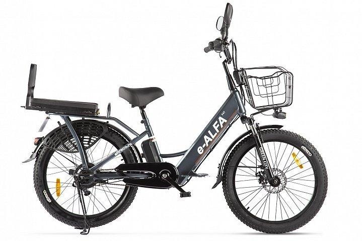Электровелосипед велогибрид Green City e-ALFA Fat