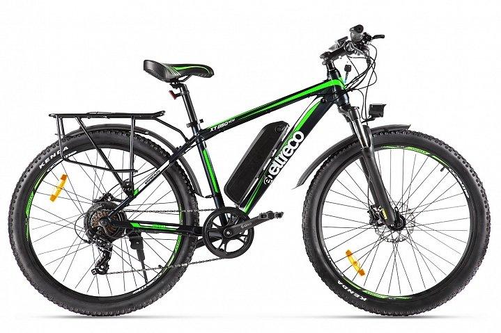 Электровелосипед велогибрид Eltreco XT 850 new