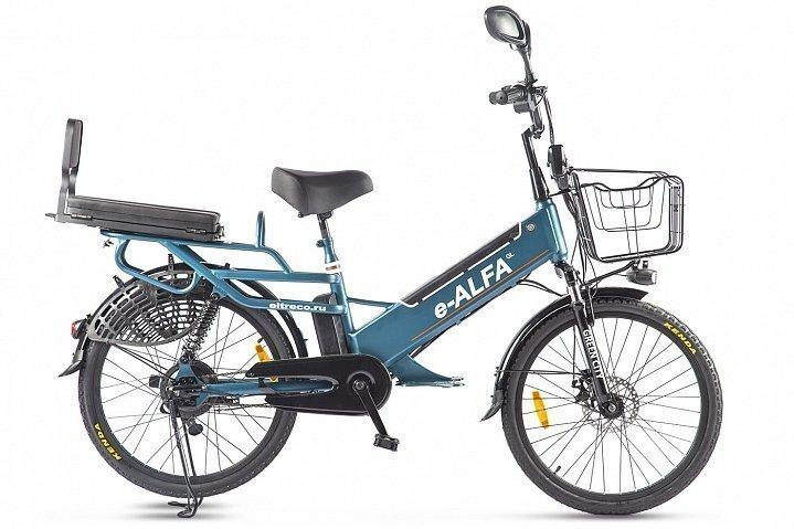 Электровелосипед велогибрид Green City e-ALFA GL
