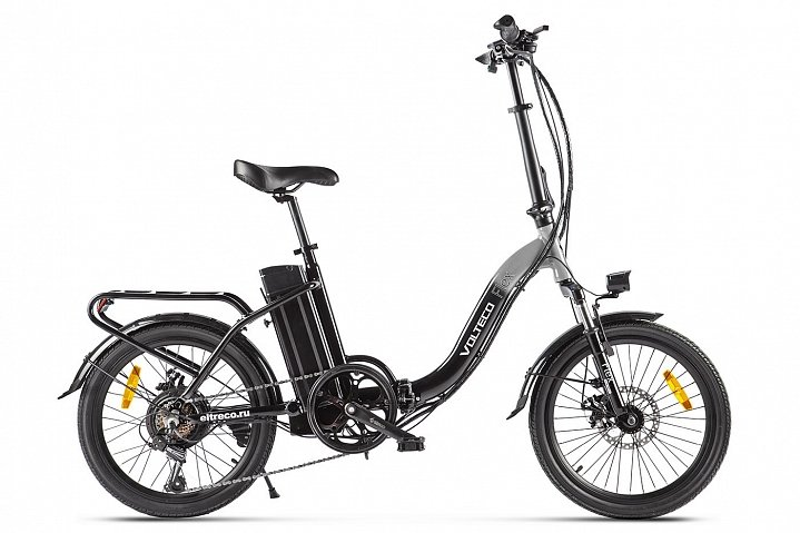 Электровелосипед велогибрид Volteco FLEX