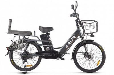 Электровелосипед велогибрид Green City e-ALFA LUX