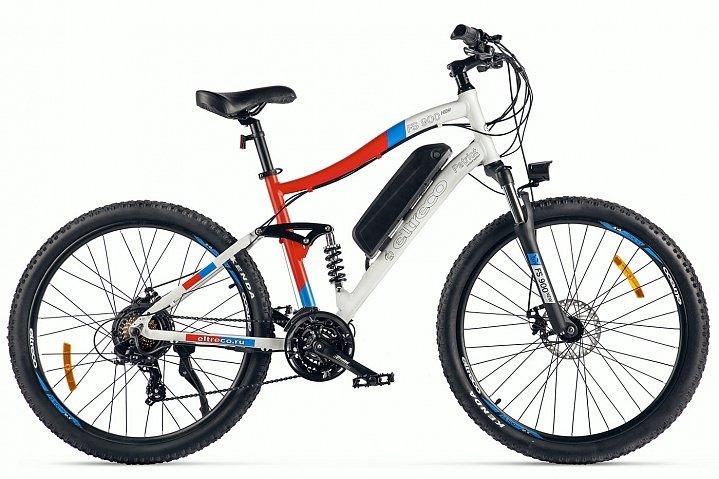 Электровелосипед велогибрид Eltreco FS900 new