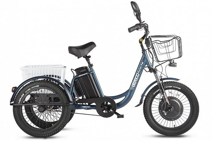 Электровелосипед Трицикл Eltreco Porter Fat 500