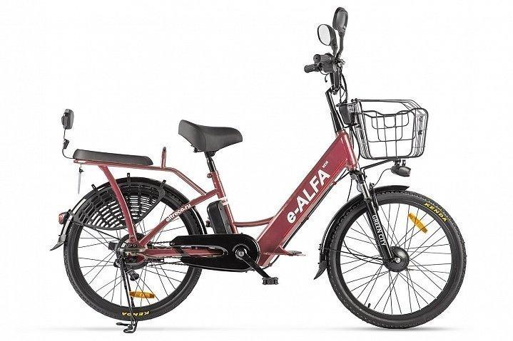 Электровелосипед велогибрид Green City e-ALFA new