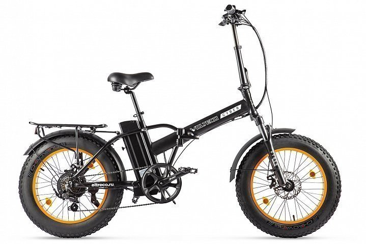 Электровелосипед велогибрид Volteco Cyber
