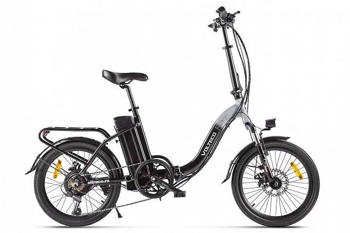 Электровелосипед велогибрид Volteco FLEX UP