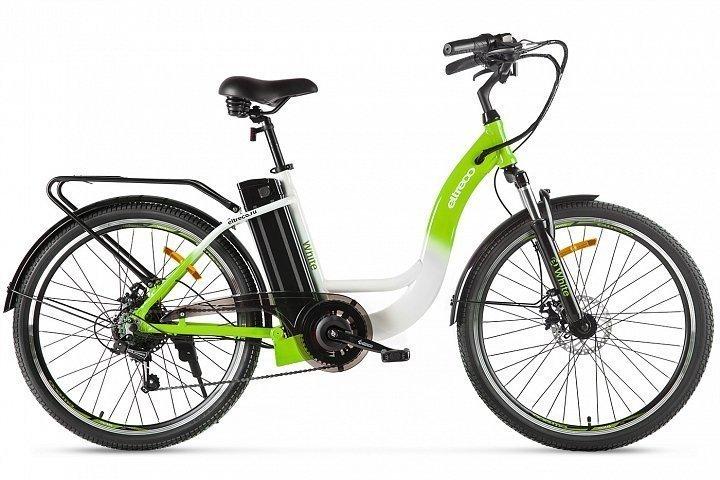 Электровелосипед велогибрид Eltreco White