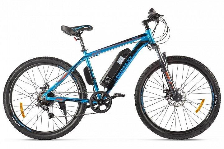Электровелосипед велогибрид Eltreco XT 600 D